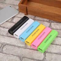 Mobile USB Power Bank Ladegerät Pack Box Batterie Fall für 1  x DIY