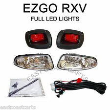 EZGO RXV Golf Cart LED LIGHT KIT LED HeadLight & LED Taillight
