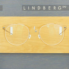 LINDBERG NOW 6517 C21 ROUND CLEAR BUFF BRONZE GRAY EYEGLASSES SPECTACLE FRAMES