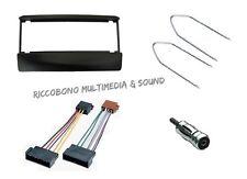 MASCHERINA AUTORADIO FORD FIESTA- SCORPIO+CAVO ISO+ADATTATORE ANTENNA+CHIAVETTE
