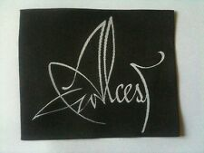 ALCEST patch 9 x 11 cm woven sew on fleck toppa parche buy 3 get 4