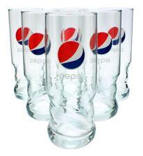 6 Pepsi AXL Gläser 6x0,50l  - Glas - Becher - Set - Cola - Füllstrich