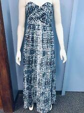 Calvin Klein Womens Strapless Maxi Dress,8/BluePrint