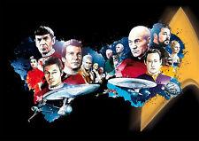 Star Trek Poster - Raumschiff Enterprise/Next Generation - DIN A1 59,4 x 84,1 cm