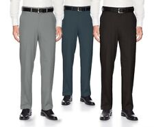 Boltini Men's Straight Leg Slim Fit Flat Front Dress Pants Casual Trousers
