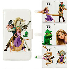 Tangled Pascal Rapunzel Flip Wallet Phone Case fit For iPhone & Samsung S10+ S10