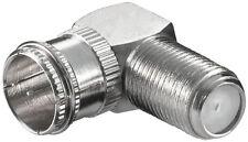 10 x Verbinder F-Quick-Stecker > F-Kupplung,90° Winkel
