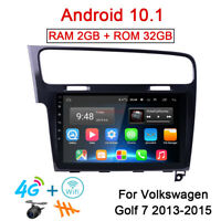 32GB Android 10.1 Radio GPS Navi Stereo 4G Car DVD Player For VW Golf 7 MK7 2013