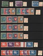 ESTONIA: Sg 148-Sg 158 Examples - Ex-Dealers Stock - 2 Sides Album Page (32954)