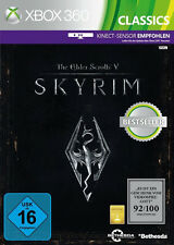 The Elder Scrolls V: Skyrim (Microsoft Xbox 360, 2011, DVD-Box)