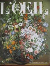 REVUE ART L'OEIL N° 356 de 1985 LANCRET GOULD GAUGUIN DUBAL PIGNON R. MARTIN