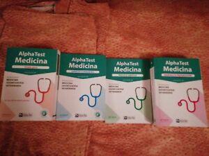 Alpha test medicina kit completo