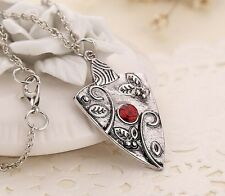 The Vampire Diaries Bonnie Garnet Bennet Family Amulet Ancient Silver Necklace