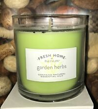 Partylite Fresh Garden Herbs Escential Jar Candle $16 Strong Jar 30% Off