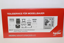 Herpa 084147 Volvo FH GL Driver's Cab Without Wind Deflector 1:87 H0 NEUIN OVP