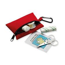 Trousse Secours Kit Premiers Soins Ciseaux Lingette Bandage Coton Pansement Neuf