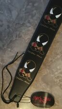 Spider-Man Acoustic Guitar Strap-Black Background-BRAND NEW CONDITION W/ TAGS