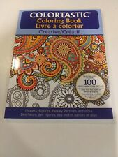 Colortastic Creative Coloring Book for Grown Ups and Adults by Emson - Purple