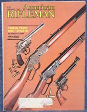 Magazine American Rifleman, FEBRUARY 1979 !!! BERETTA Model 680 TRAP GUN !!!