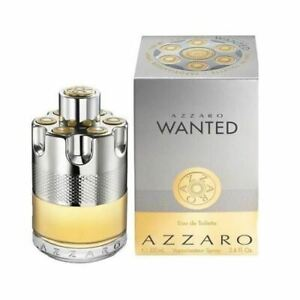 AZZARO Wanted 100ml EDT for Men Spray BRAND NEW Genuine Free Delivery