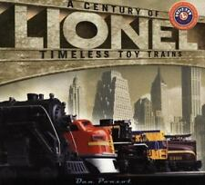 Lionel Trains : A Century of Timeless Toy Trains by Dan Ponzol 2002 1st edition!