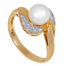 Ringe mit Perlen-Zucht für Damen (17,5 mm Ø) von 55