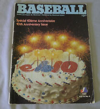 1979 Vol.10 # 4 Official MLB Montreal Expos Baseball Magazine