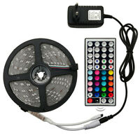 LED Strip Light RGB 5050 SMD 2835 Flexible Ribbon RGB Stripe 5M 10M 15M Full Kit
