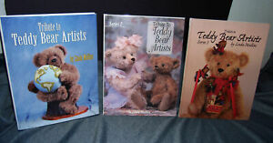 THE ULTIMATE TEDDY BEAR COLLECTOR REFERENCE BOOKS TEDDY BEAR ARTISTS 3 VOLUMES
