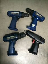 BLUE POINT CORDLESS DRILL SET OF 3 SNAP ON CORDLESS DRILL