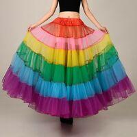Petticoat Tanz Rock Röcke Reifrock für Brautkleid Hochzeitskleid bunt 100 cm RR5