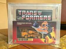 TRANSFORMERS HASBRO 1985 AUTHENTIC CANADIAN GRAPPLE NEW G1 AFA 80 VERY RARE!