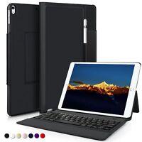 IVSO iPad Pro 10.5 QWERTZ Tastatur, Wireless Bluetooth Tastatur Schutzhülle mit