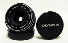 OEM OLYMPUS f/3.5 28mm Auto-W Prime Wide-Angle Lens SLR Camera DSLR Micro 4/3
