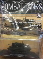 DEAGOSTINI COMBAT TANKS COLLECTION #26 MAGAZINE & MODEL - NEW AND SEALED