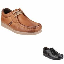Base London 100% Leather Square Formal Shoes for Men