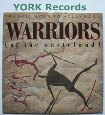 """FRANKIE GOES TO HOLLYWOOD - Warriors - Excellent Condition 7"""" Single Ztt ZTAS 25"""
