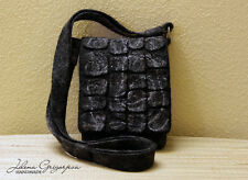 Men Bag Felt Purse Wool Handbag