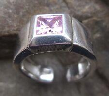 JOOP RING 925 Silber Zierstein Zirkonia Herrenring Ø ca.18,4 mm U 58 Design Ring