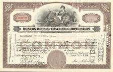 Boston Herald-Traveler newspaper > stock certificate