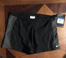 Nike Men's Poly Core Surge Square Leg Swimsuit Black Size M 30