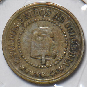 Colombia 1881 2 1/2 Centavos 196130 combine shipping