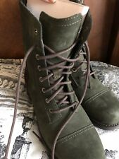 UGG KILMER SLATE Green water RESISTANT LACE UP SheEpskin Lining snow BOOTs