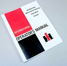 Farmall B Tractor Owners Operators Manual International Maintenance Book
