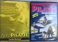 Aeropilates Cardio exercise fitness workout Rebounder DVD Pro XP 555 reformer
