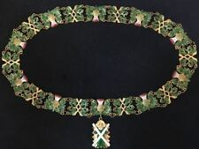 The Collar of the Order of the Thistle. Excellent copy