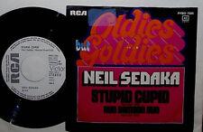"NEIL SEDAKA STUPID CUPID / RUN SAMSON 7"" SINGLE (WHITE LABEL) OLDIES BUT GOLDIES"