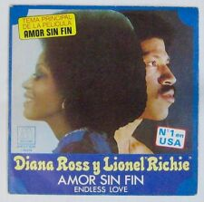 Endless Love 45 Tours Diana Ross Lionel Ritchie Tamla 1981