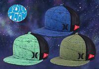 New Hurley JJF Maps Mens Snapback Trucker Cap Hat