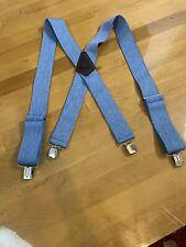 holdup suspenders Baby Blue